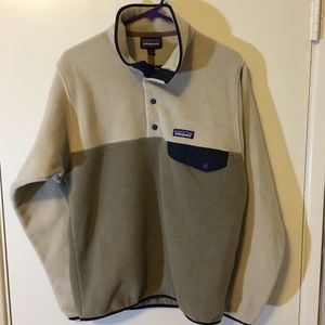 Patagonia synchilla snap t pullover NWOT